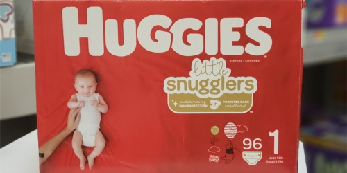 Free $10-$30 Walmart Gift Card w/ Purchase of Select Huggies or Luvs Diaper Bundles