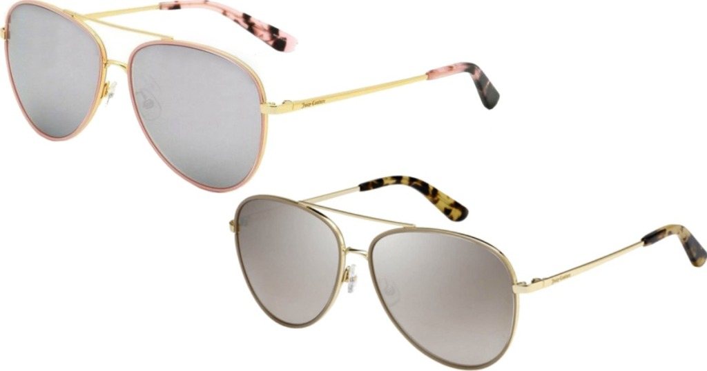 two pairs of Juicy Couture Sunglasses