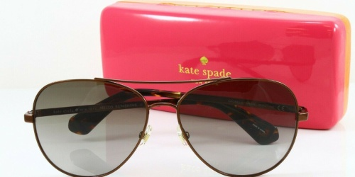 Kate Spade Polarized Aviator Sunglasses Only $42 Shipped