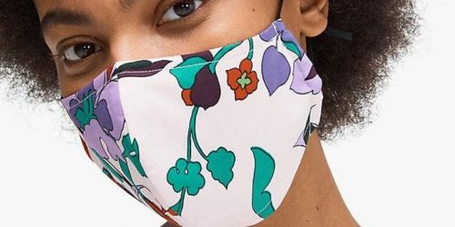 Kate Spade Designer Mask Pre-order Only $9 Shipped