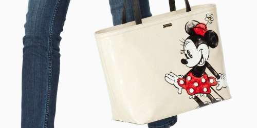 Kate Spade Minnie Mouse Tote Only $119 Shipped (Regularly $198)
