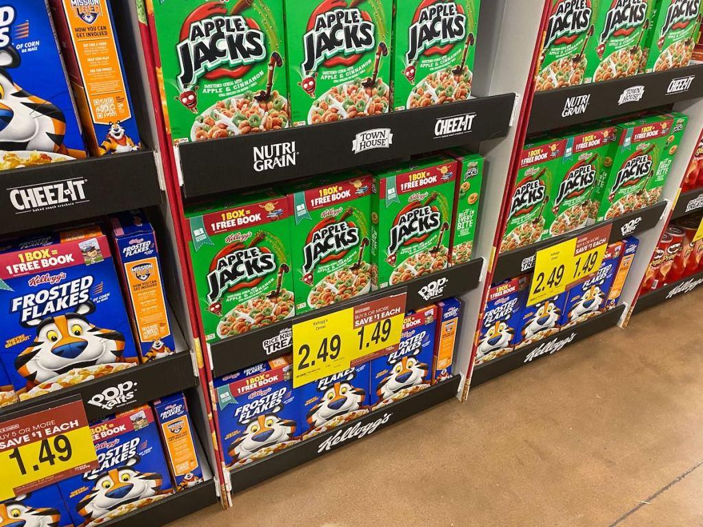 Kellogg's Cereals at Kroger