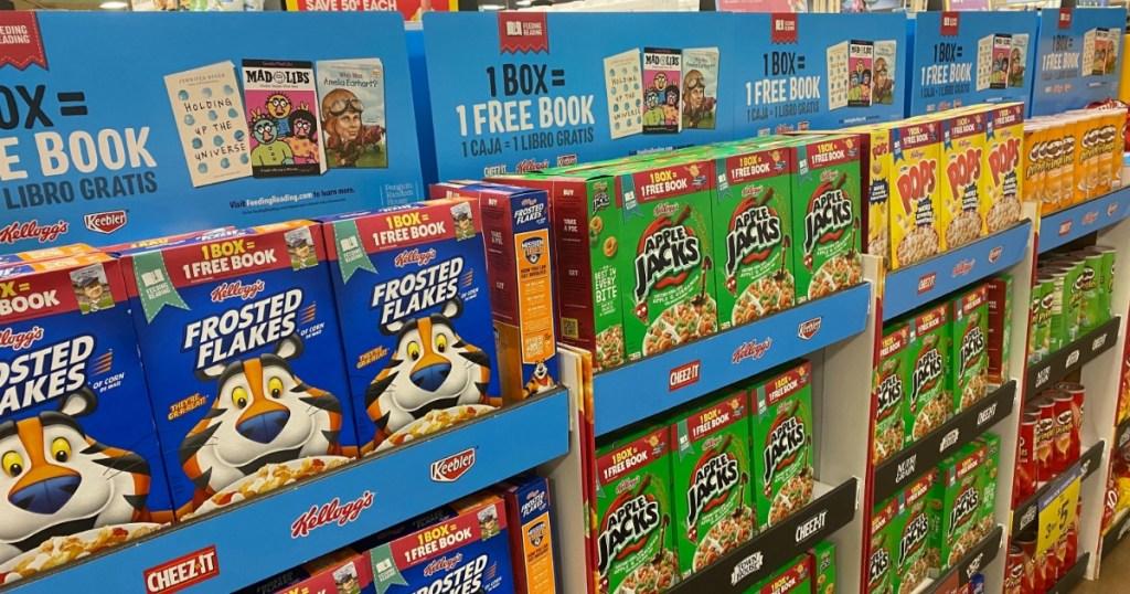 Kellogg's Cereals display