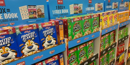 Kellogg's Cereals as Low as 19¢ After Cash Back + FREE Books