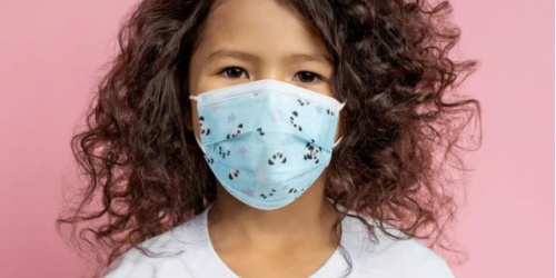 Kids Disposable Face Masks 50-Count Box Only $18 Shipped | Just 37¢ Each
