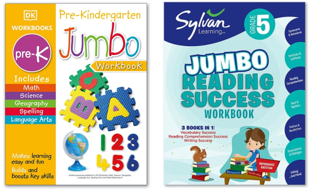 two kids educational books