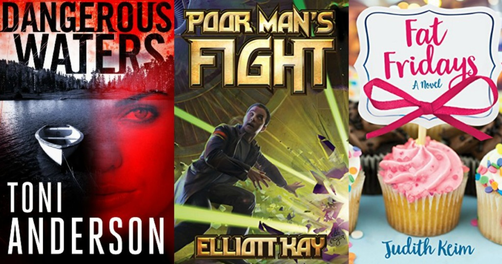 three kindle book covers