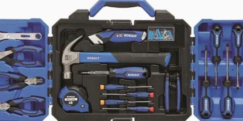 Kobalt 121-Piece Household Tool Set Possibly $34.98 on Lowes.com (Regularly $50)