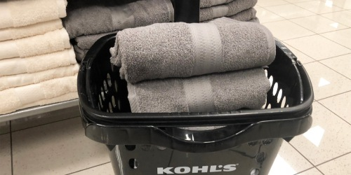 These SONOMA Cotton Bath Towels are just $5 on Kohls.com (Regularly $14) & Have Great Reviews