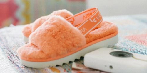 Koolaburra by UGG Girls Fuzz'n Slippers Only $17.99 on Zulily (Regularly $40)