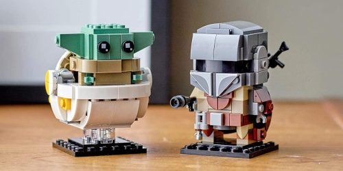 LEGO BrickHeadz Star Wars The Mandalorian + The Child Set Only $15.99 on Amazon (Regularly $20)