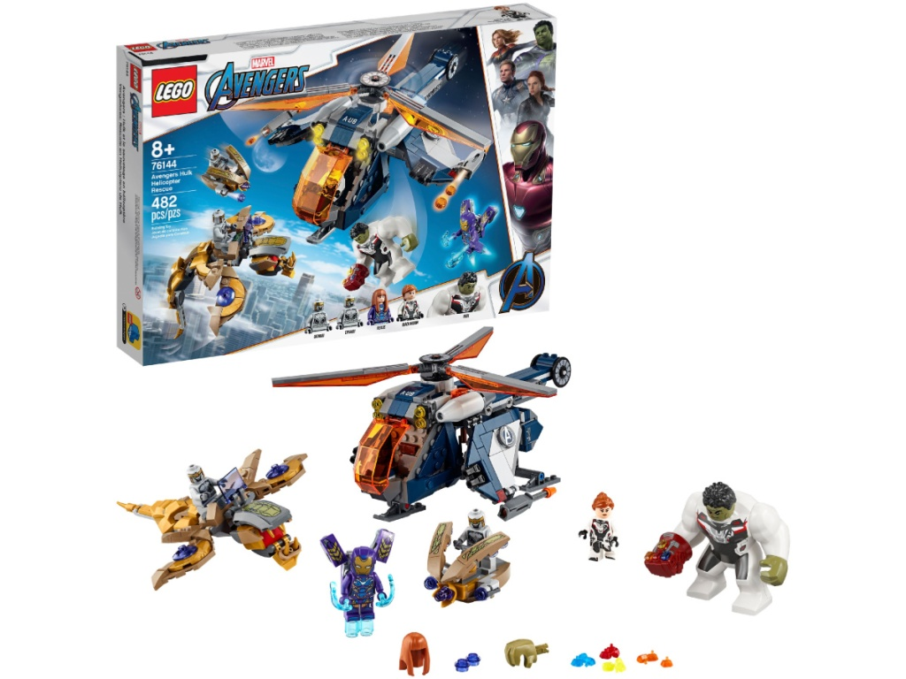 LEGO Super Heroes Avengers Hulk Helicopter Rescue