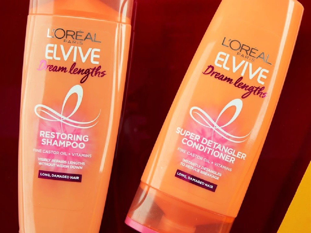 L'Oreal Elive Dream Lengths Shampoo and Conditioner
