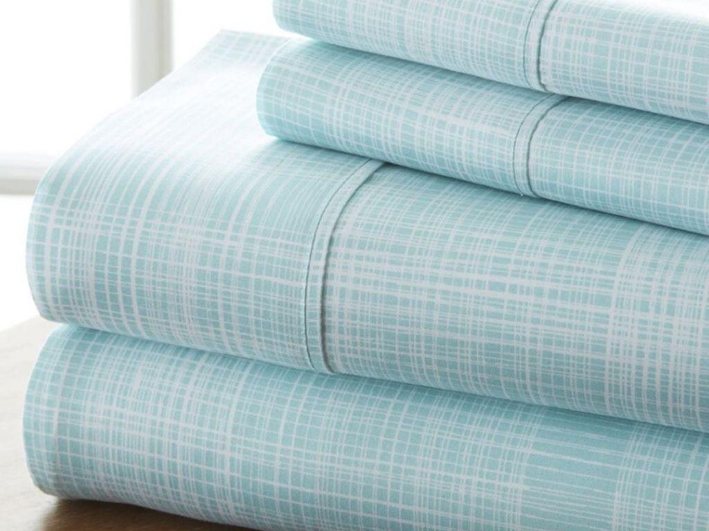 four piece folded sheet set