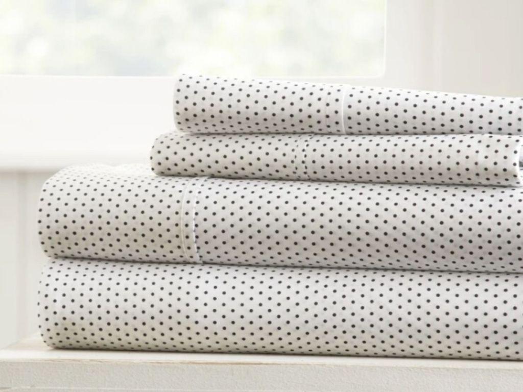 folded patterned sheet sets