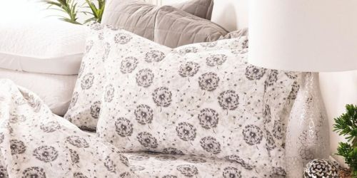 Microfiber 4-Piece Sheet Sets From $22.68 Shipped (Regularly $81)