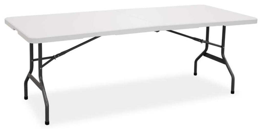 Living accents banquet folding table