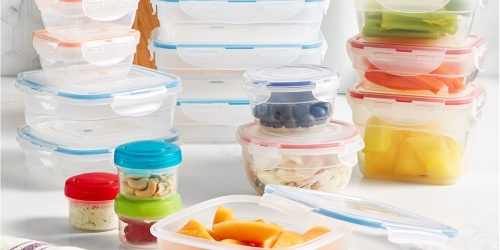 Lock n Lock Food Storage Container 25-Piece Set Only $25.99 Shipped on Macys.com (Regularly $66)