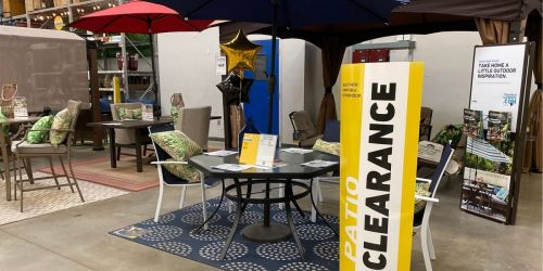 Lowe's Summer Patio Clearance | In-Store & Online