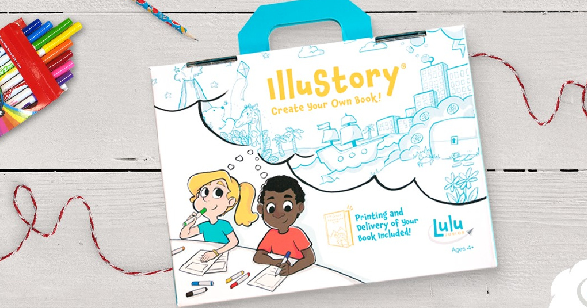 IlluStory Create Your Own Book kit on a table