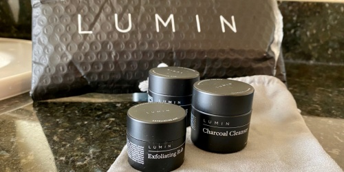 Lumin Men's Premium Skincare Set Only $3 Shipped + Find Out What We Thought