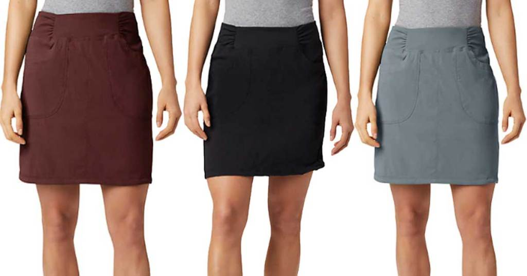 women's skirts in various colors