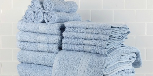 Mainstays 18-Piece Bath Towel Set Just $24.99 on Walmart.com (Regularly $58)
