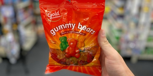 FREE CVS Gold Emblem Gummy Bears | Today & In-Store Only