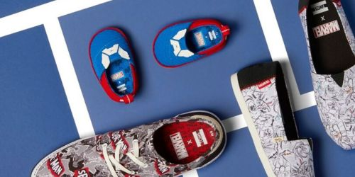 Tiny TOMS Marvel Baby & Kids Shoes from $11 (Regularly $20+)