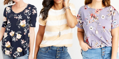 Maurices Women's Tees Only $7 (Regularly $26) | Over 50 Styles to Choose From