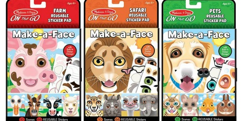 Melissa & Doug Reusable Sticker Pad 3-Pack Only $7.49 on Amazon (Regularly $15)