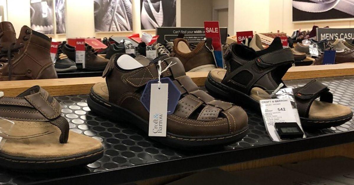 Men's Croft \u0026 Barrow Sandals from $13