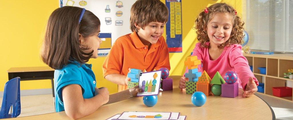 Kids playing Mental Blox Game