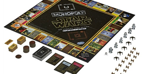 Monopoly Star Wars Board Game Only $21.99 on Amazon
