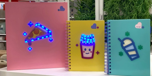 Light Up Binders & Journals Only $8 at Target