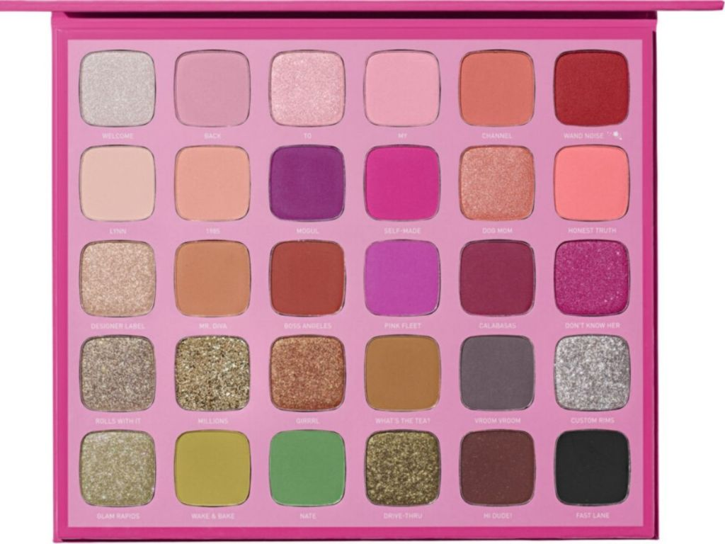 large makeup eyeshadow palette