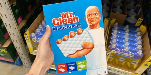 Mr. Clean Magic Erasers 18-Count Only $9.78 Shipped on Amazon | Removes Stains, Scuff Marks & More