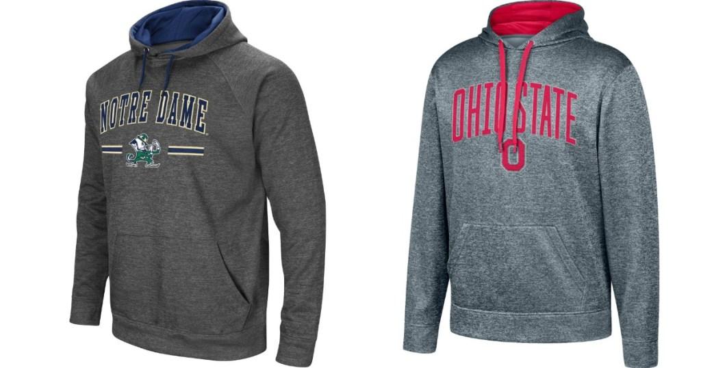 two men's sweatshirts