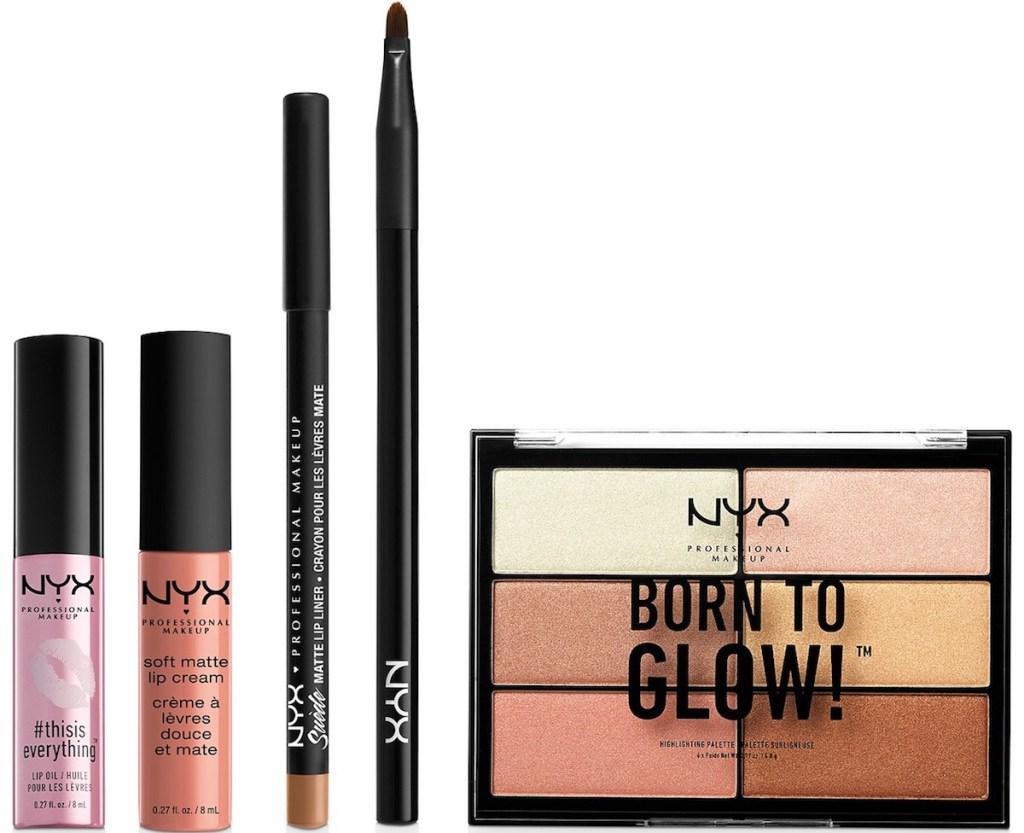 NYX makeup Lip Bundle