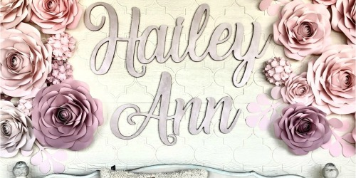 Personalized First & Middle Name Sign Only $41.99 (Regularly $80)
