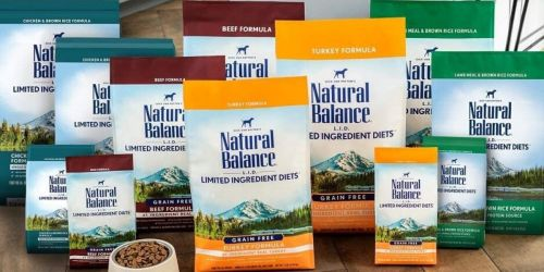 Natural Balance L.I.D. 12-Pound Dry Puppy Food Just $10.86 Shipped on Amazon