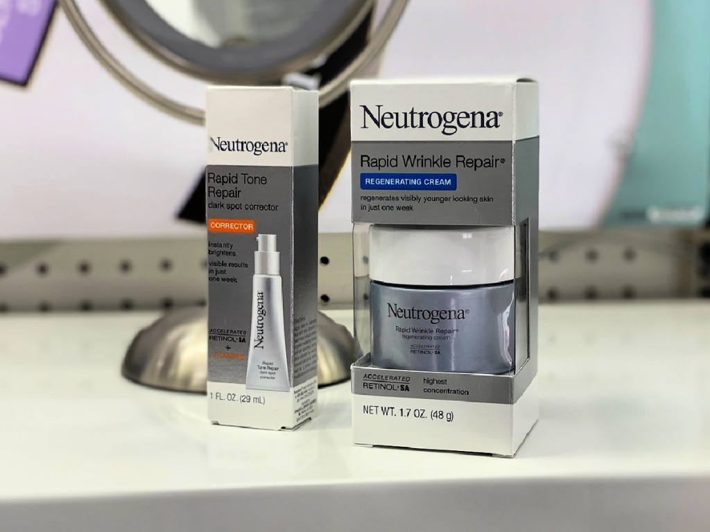 Neutrogena Rapid Repair products