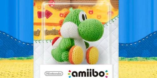 Yoshi's Wooly World Yarn Yoshi Amiibo Only $6.99 on GameStop.com (Regularly $13)