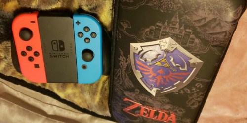 Nintendo Switch Zelda Carrying Case Only $4.49 on BestBuy.com (Regularly $13)