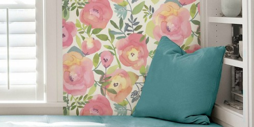 Up to 30% Off Peel & Stick Wallpaper on Home Depot
