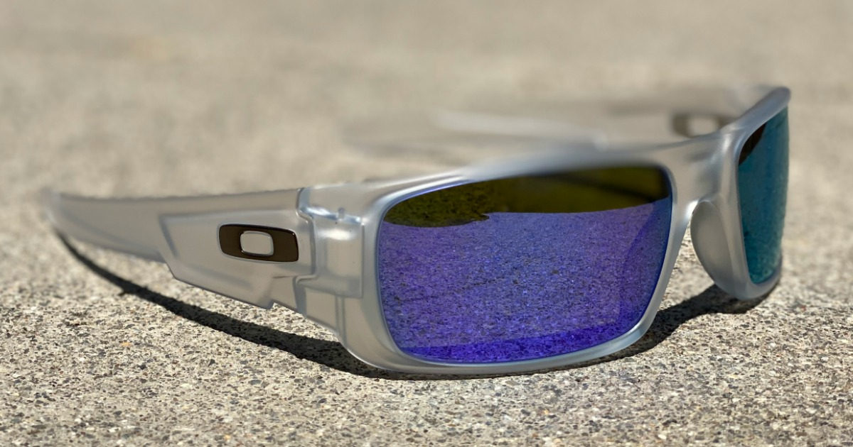sunglasses sitting on concrete