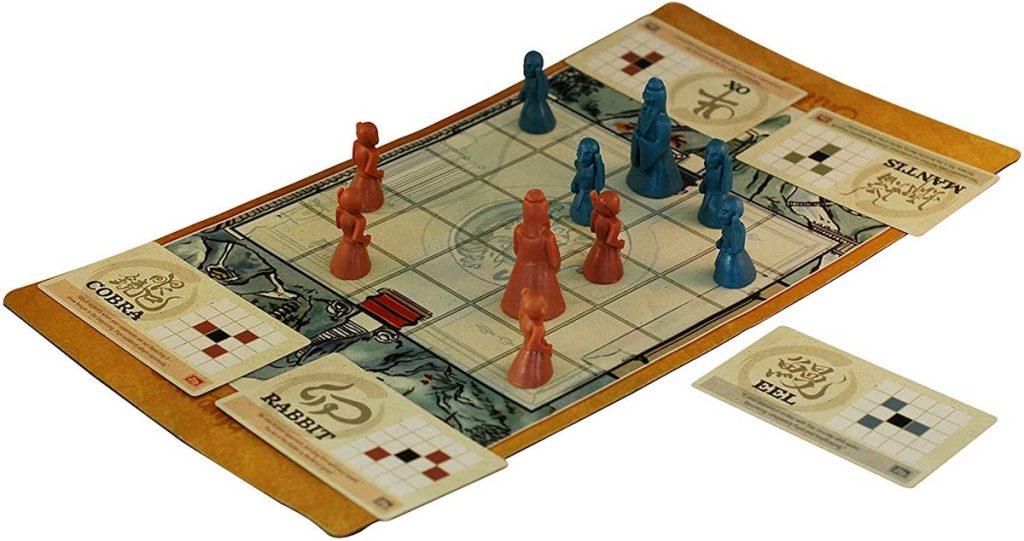 Onitama Game board