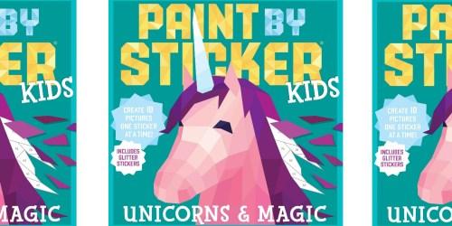 Paint by Sticker Unicorns & Magic Book Only $3.99 on Amazon (Regularly $10)