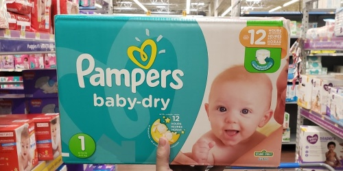 Pampers Diapers Boxes Only $19.99 on Amazon (Regularly $37) | Sizes Newborn – 6