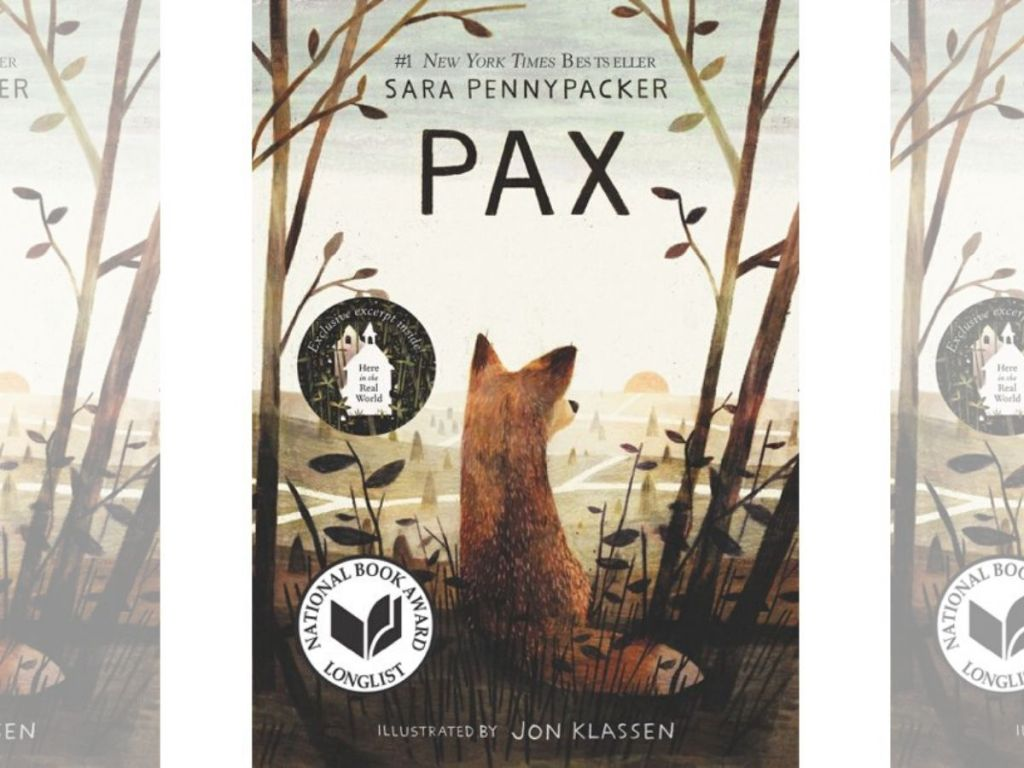 paperback book Pax by Sara Pennypacker